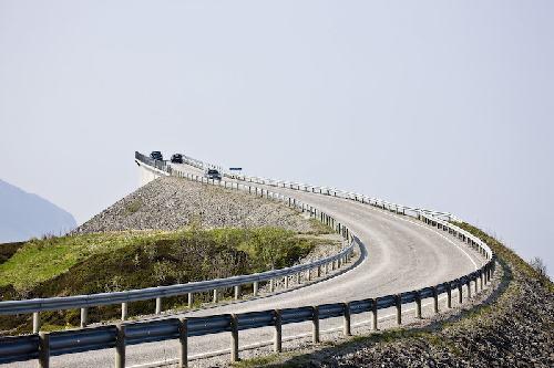 Автомобильная дорога в Норвегии