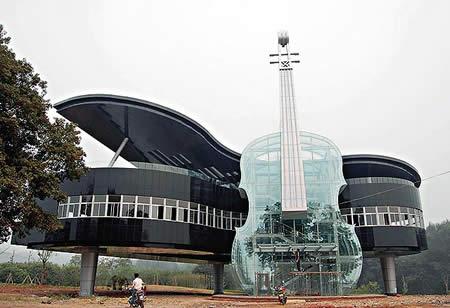 Дом - пианино (Китай)